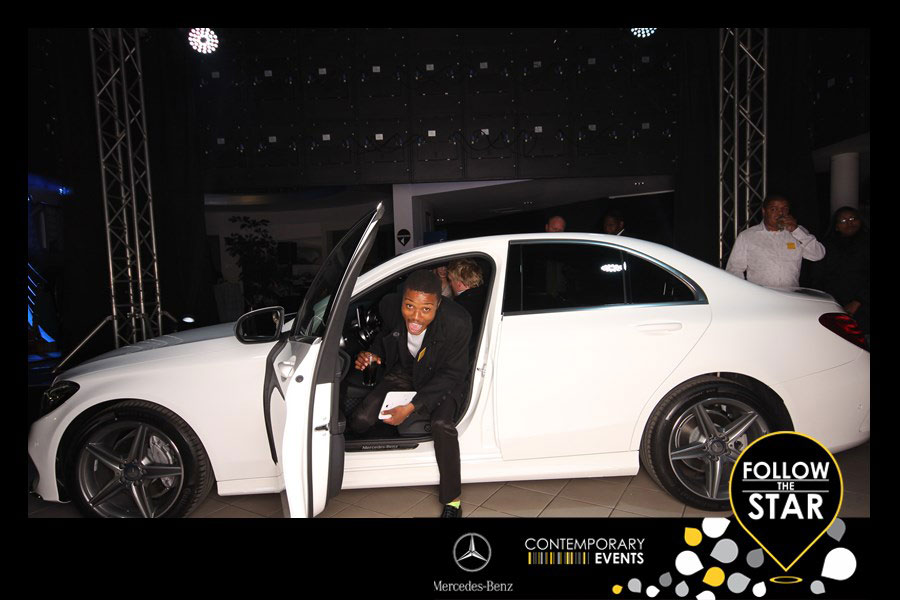 mercedes follow the stars