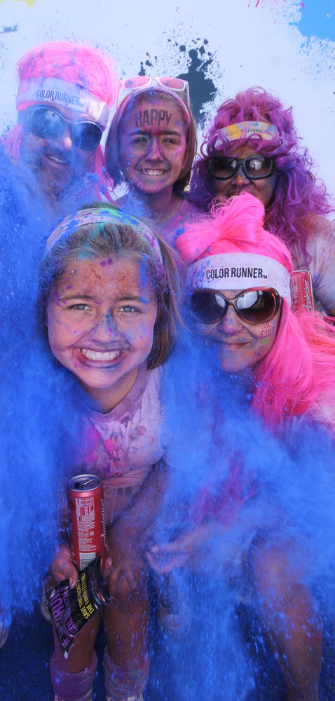 brand colour run
